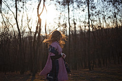 Oana (lifecanbegoodsometimes) Tags: autumn sunset portrait art girl beautiful beauty 35mm hair outdoors model 14 wide sigma