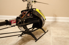MSH Protos Max V2 [rear] (nathanwalls) Tags: max yellow helicopter rc heli v2 msh protos