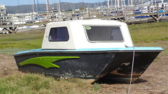 Boat on shore (Rckr88) Tags: africa travel water southafrica boats boat ship waterfront harbour south ships gardenroute knysna westerncape knysnawaterfront