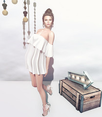 look of the day (=DeLa*=) Tags: hair shiny mesh style potd sl secondlife dela shabby lotd fitted secondlifefashion slhair