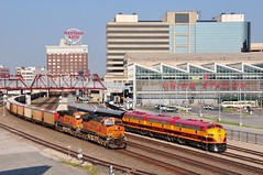 BNSF 6267 5770 & KCS 1, 2, 3 K.C. Union Station (Railblazer) Tags: kansascity bnsf kcs burlingtonnorthernsantafe kansascitymissouri kansascitysouthernrailway kansascitysouthern bnsfrailway bnsfrailroad burlingtonnorthernsantaferailway burlingtonnorthernsantaferailroad kcsrailroad kansascitysouthernrailroad kansascityunionstation westernautosign kcsrailway bnsftrain kansascitysoutherntrain kcstrain burlingtonnorthernsantafetrain kansascitysouthernofficecarspecial kansascitysouthernocs kcsocs kcspassengertrain westernautosignkansascity kansascitysouthernpassengertrain kcsofficecarspecial