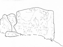 Coldrum Long Barrow (Doilum) Tags: stone standing kent drawing stones chamber burial medway megaliths neolithic megalith dolmen sarsen