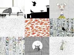 details of my latest postcards (swig - filz felt feutre) Tags: animals paper stamps humor felt humour papier marken swig filz papeterie briefmarken feutre timbres timbresposte paperpleasures papierfreuden plaisirsdepapier