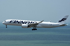 Finnair OH-LWD (Howard_Pulling) Tags: camera hongkong photo airport nikon photos may picture 2016 howardpulling d5100