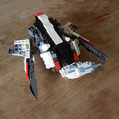 DSCN6673 (alfa145q_lego) Tags: lego legocreator vehicletransporter 31033 alternate futureflyers 31034 mecha rebuild
