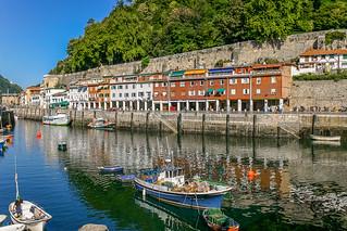 Puerto pesquero de San Sebastian