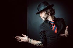 Vikxie (Adrenalina) (Miguel Prado) Tags: portrait musician music retrato asturias singer gijon sesion songwriter adrenalina musico miguelprado vikxie envista fotografogijon