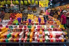 Mixed Fruit Drinks (mindweld) Tags: barcelona de la spain market mercado boqueria laboqueria mercatdelaboqueria mercadodelaboqueria mercatdesantjosepdelaboqueria
