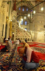 Fatih Cami, Istanbul (Ameer Hamza) Tags: fati fatih mesjid cami camii jami muslim islamic turkey ramadan prayers praying pray ameerhamza adhia travels istanbul faith 2016 worship worshipper ramazan sharif islambol carpet red june may