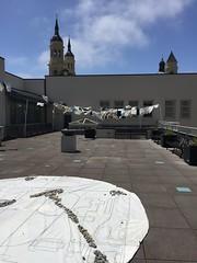 IMG_3063 (Thacher Gallery at the University of San Francisco) Tags: contemporaryart artinstallation environmentalart usfca sculptureterrace thachergallery worldsinthemaking christinaconklin