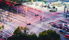 Chaos (Andr Moecke) Tags: chaos traffic sopaulo redlight trnsito gru cgh