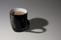 Good morning.. (mru24) Tags: morning shadow white art cup coffee canon photography mug doncaster 40d