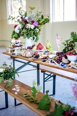 Modern Easter Lunch by Madame Gazelle @ The Fitters Workshop Canberra (ACT Property Group) Tags: foodie food tabledecor roses blog hercanberra fruit easter