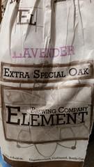 Lavender Extra Special Oak (Pak T) Tags: beer drink massachusetts beverage lavender alcohol bitter millersfalls beerporn untappd elementbrewing samsunggalaxys5