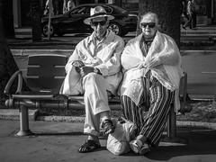En couple (totofffff) Tags: street 2 white black france film festival alpes french riviera noir cannes 10 d mark olympus ii e om blanc maritimes croisette mditerrane
