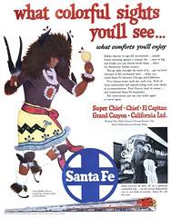 Santa Fe - 19521206 Post (Jon Williamson) Tags: history vintage advertising ad vintageadvertising vintagead vintascope