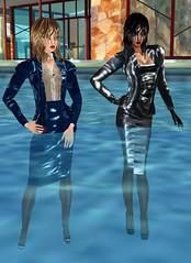 31 (SoakinJo) Tags: highheels wetsuit wetlook wetclothes imvu