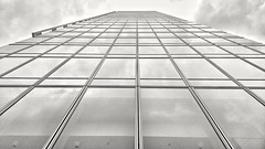 Sky (xskyven) Tags: sky skyscraper architecture glass structure praha prague modern futuristic