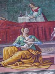 santa maria novella florence 125 (Walwyn) Tags: italy florence fresco renaissance wallpainting johnthebaptist ghirlandaio