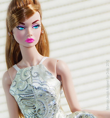 BROCADE HALTER DRESS (marcelojacob) Tags: paper doll dress jacob barbie convention poppy cinematic marcelo halter parker collector brocade fr2