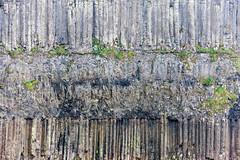 Basalt Columns, Benbane Head (ghostwheel_in_shadow) Tags: ireland sea heritage rock stone coast europe unitedkingdom science worldheritagesite coastal environment northernireland column geology cultural basalt ulster antrim earthscience sciencetechnologyandengineering giantscausewayandcausewaycoastworldheritagesite