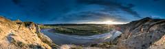 Little Missouri Sunset Pano (Bryan Hansel) Tags: pano workshop northdakota nd teddyrooseveltnationalpark