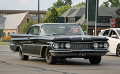 1959 Oldsmobile Ninety-Eight Holiday Coupe (RudeDude2140a) Tags: holiday black classic car 98 coupe 1959 oldsmobile ninetyeight