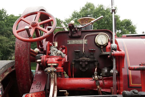 "UK, Woolpit Steam Rally, ""Jessie"", Bartrupt, Charles Burrel Traction Engine III"