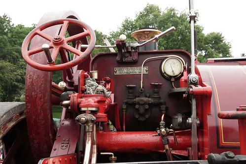 "UK, Woolpit Steam Rally, ""Jessie"", Bartrupt, Charles Burrel Traction Engine III"