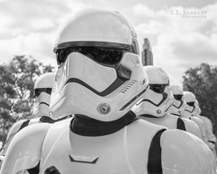 Stormtroopers - Disney's Hollywood Studios B&W (J.L. Ramsaur Photography) Tags: portrait blackandwhite bw photography photo blackwhite starwars nikon florida pic disney disneyworld photograph portraiture stormtrooper nik thesouth orangecounty waltdisneyworld magical darkside waltdisney centralflorida happiestplaceonearth 2016 imagineering portraitphotography firstorder upclosepersonal lakebuenavistafl wheredreamscometrue ibeauty starwarsstormtrooper hollywoodstudios tennesseephotographer southernphotography screamofthephotographer silverefex disneyshollywoodstudios jlrphotography photographyforgod d7200 niksilverefexpro2 engineerswithcameras jlramsaurphotography nikond7200 theforceawakens firstorderstormtrooper firstorderstormtroopermarch