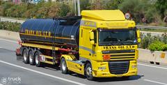 DAF XF105.460 - Trans Oil Ltd (Avramidis_Alex) Tags: truck hellas greece lorry camion gr tanker daf lkw xf  xf105 xf105460