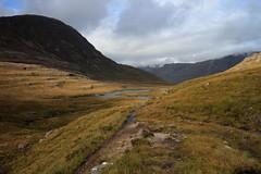 Following in the Deer Stalkers Footsteps (RoystonVasey) Tags: canon eos scotland zoom an m 1855mm stm loch maol annat torridon munro lochan dearg domhain chean cadh sgadain