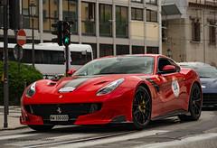 F12 TDF at Ferrari Cavalcade (David Clemente Photography) Tags: ferrari tourdefrance f12 ferrarif12 f12berlinetta ferraricavalcade f12tdf ferrarif12tdf