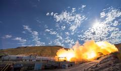 Booster Test for Space Launch System Rocket (NHQ201606280017) (NASA HQ PHOTO) Tags: usa utah nasa promontory testarea billingalls spacelaunchsystemsls qualificationmotortestqm2