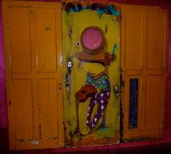 """My guitar gently weeps"" (daisyglade) Tags: painting doors prince thebeatles tompetty jefflynne stevewinwood brazillianart myguitargentlyweeps atributetogeorgeharrison"