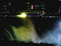 mist lights falls (clubsummerlands) Tags: usa tourism niagarafalls engineering niagara falls americanfalls
