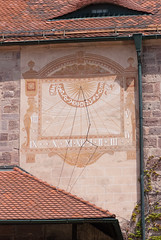 Sundial (quinet) Tags: germany sundial 2012 sonnenuhr kulmbach cadransolaire castleroad burgenstrase