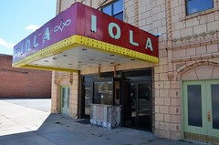 Kansas, Iola, Iola Theater (EC Leatherberry) Tags: 1931 movie theater ticketbooth allencounty iolakansas iolatheatre