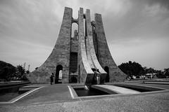 Burial Ground (Garrett.Williams) Tags: africa white black green stone memorial ground international ghana burial accra