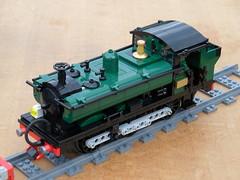 GWR 8750 tank WiP [SAM_0241] (wes_turngrate) Tags: train tank lego engine railway loco steam locomotive 060 gwr moc pannier 8750 8wide