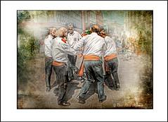MORRIS DANCERS 3 (Derek Hyamson) Tags: texture liverpool candid churchstreet hdr morrisdancers