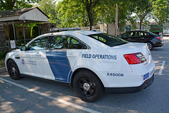 Picture Of The US Customs And Border Protection Field Operations 2013/2014 Ford Taurus Police Interceptor Sedan Taken In Tarrytown New York. Photo Taken Saturday July 11, 2015 (ses7) Tags: field us border and operations protection customs