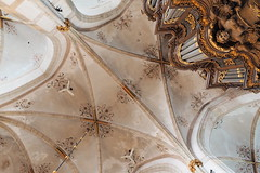 Grote Kerk, Zwolle (Gerrit Veldman) Tags: organ church orgel kerk gewelf vault arch houtsnijwerk woodcarving architecture kerkinterieur churchinterior zwolle overijssel inexplore olympus epl7 nederland netherlands