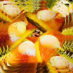bread with egg and ham (Kai-Ming :-))) Tags: egg ham bread hongkong kmwhk kaiming food creative layer declicious beautiful