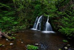 Fairy Glen upper falls (andrewmckie) Tags: fairyglen rosemarkie scotland waterfalls moneytree explored