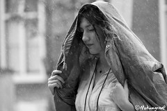It's raining again in Amsterdam (Pieter van de Ruit) Tags: woman holland girl rain amsterdam vrouw