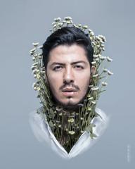 Bloom (Andreas Sichel) Tags: flowers boy art digital canon fantasy portra ard
