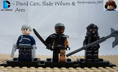 2 Deadly assassins and a freaking GOD! (Random_Panda) Tags: comics book dc comic lego fig character books super hero figure superhero characters heroes minifig minifigs superheroes figures figs minifigure minifigures deathstroke