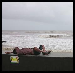 Monsoon-scapes (Indianature14) Tags: sea india monsoon bombay maharashtra mumbai seaface arabiansea worliseaface indianature throughmylens lifeinindia monsoonsea