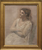 Pablo Picasso - Woman in White 1923 (ahisgett) Tags: new york art museum met metropolitian